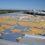 Beverage Production Plant roof in disarray