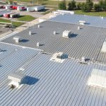 Beverage Production Plant roof repaired