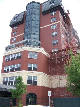 High Rise Retirement Facility side view