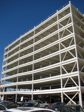 Parking Garage front view